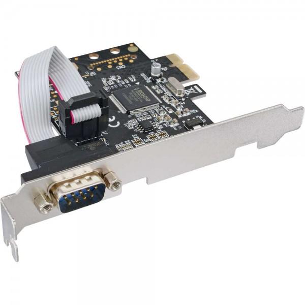 InLine® Schnittstellenkarte, 1x Seriell 9-pol, PCIe (PCI-Express)
