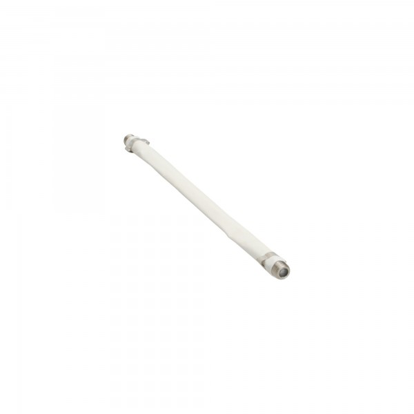 InLine® SAT Kabel Fensterdurchführung für F-Stecker, weiß