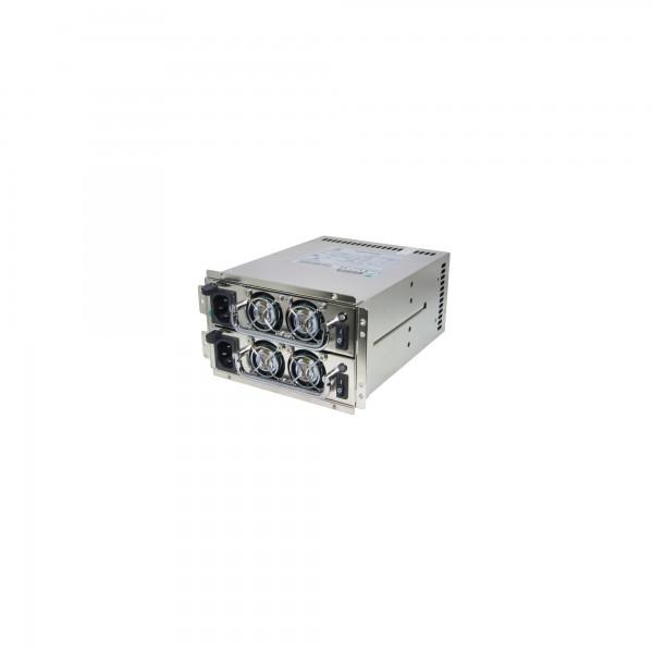 FANTEC SURE STAR R4B-700G1V2, 2x 700W, High Efficiency Mini Redundant Netzteil