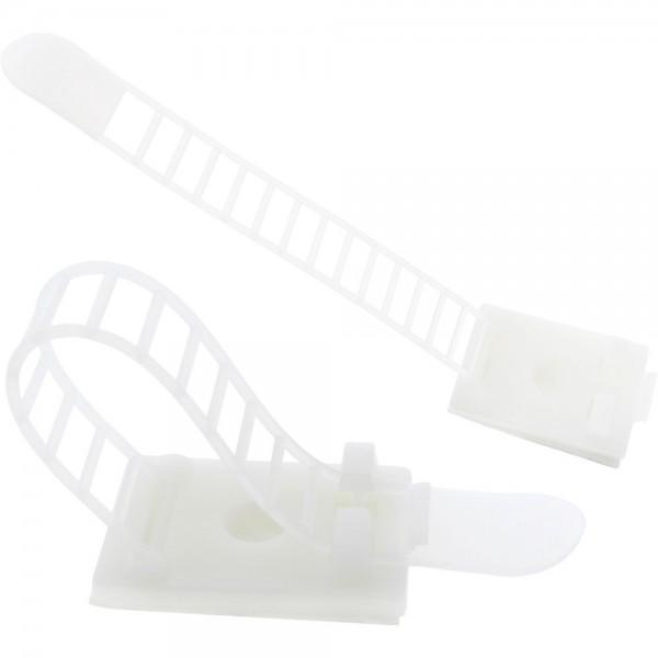 InLine® Kabelbinder Bündelklemme 64mm, natur, 10 Stück