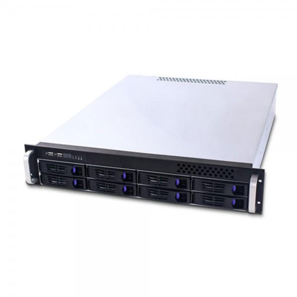 """FANTEC SRC-2080X07, 2HE 19""""-Storagegehäuse ohne Netzteil, 550mm tief"""