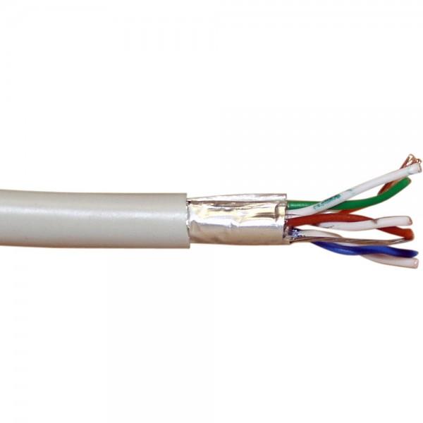 InLine® Patchkabel Cat.5e, grau, F/UTP, AWG26 CCA, PVC, 300m