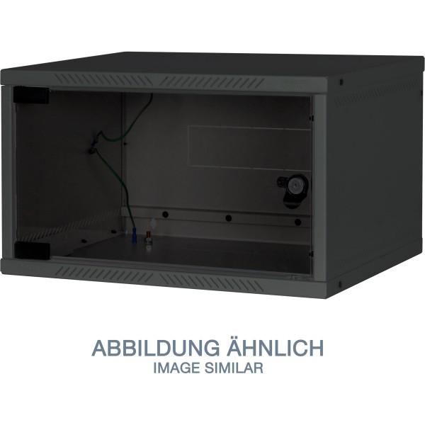 """Triton RXA-04-AS4-BAX-A1 19"""" Wandschrank 4HE, 550x400mm, zerlegbar, schwarz"""