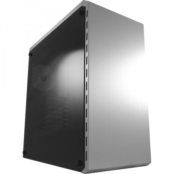LC-Power LC-986S, Midi-Tower ATX Gaming-Gehäuse White Shadow, ohne Netzteil