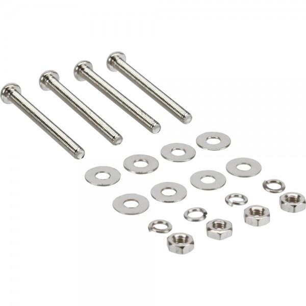 InLine® Lüfterschrauben Set, für 25mm Lüfter