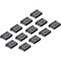 InLine® USB Typ-C Portblocker, 12er Nachfüllpack für USB-C Portblocker 55724