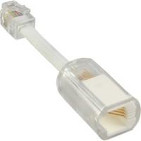 InLine® Twist-Stop, Entwirrer für Kabel von Telefonhörer, mit Kabel