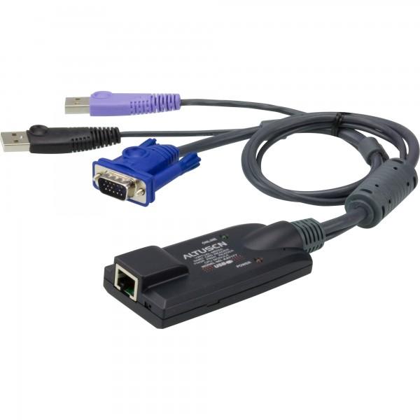 ATEN KA7177 KVM-Adapter, CPU-Modul, VGA, USB, LAN