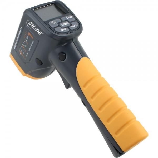 InLine® Infrarot-Thermometer mit LCD-Anzeige, kontaktlos