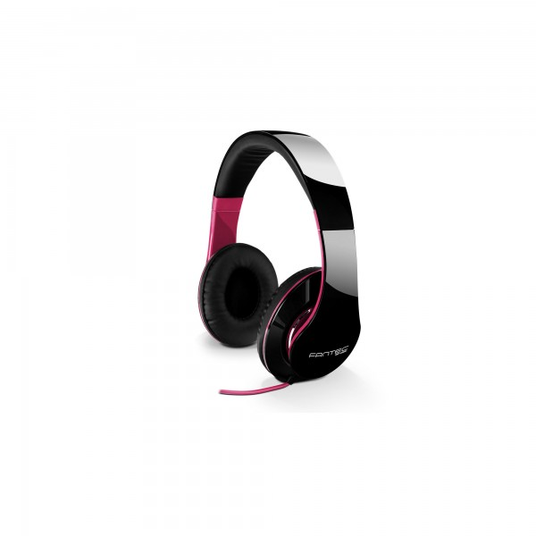 FANTEC SHP-250AJ-PK, Kopfhörer, stereo, 3,5mm-Klinke, schwarz/pink