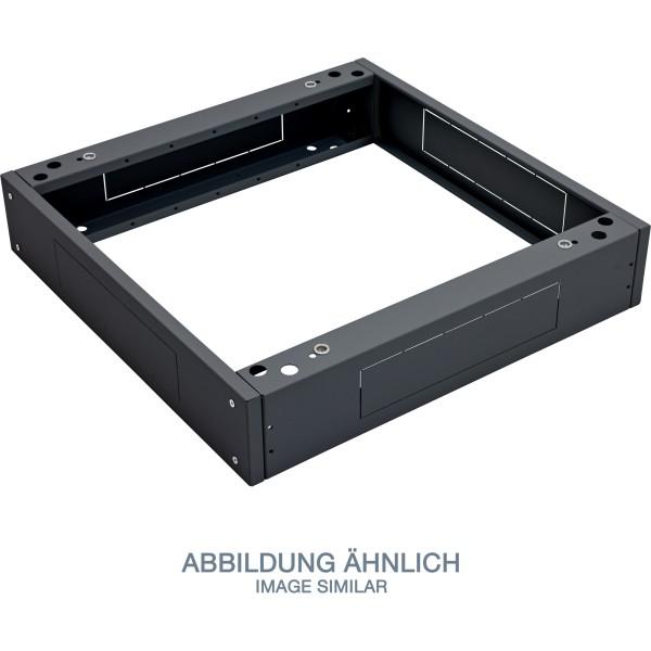 "Triton RAB-PO-X89-XN 19"" Sockel, 800x900x120mm mit Filter, schwarz"