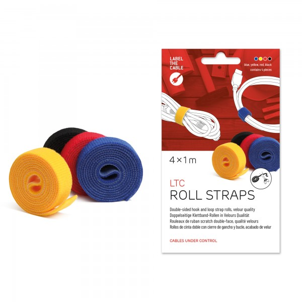Label-The-Cable Roll, LTC 1230, 4x 1 Meter