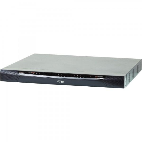 ATEN KN2140VA KVM-Switch, 40-fach, Cat.5, FullHD, mit Virtual Media