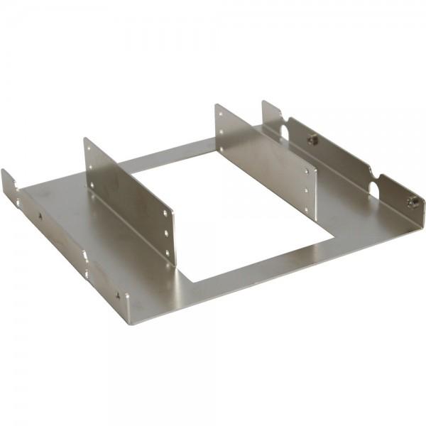 """InLine® HDD Einbaurahmen, 3x 6,35cm (2,5"""") zu 13,34cm (5,25""""), nur Rahmen und Schrauben"""