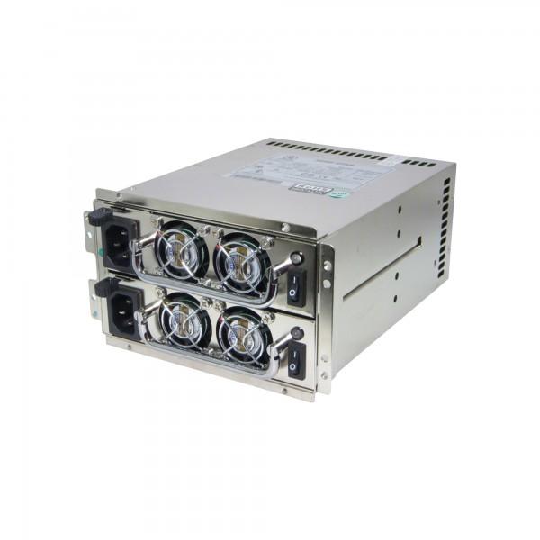 FANTEC SURE STAR R4B-500G1V2, 2x 500W, High Efficiency Mini Redundant Netzteil
