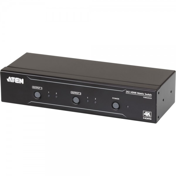 ATEN VM0202H HDMI Matrix Switch 2x2 4K