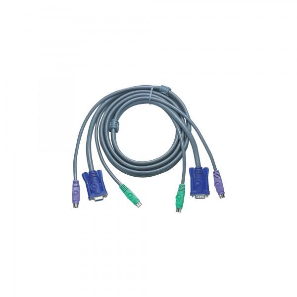 ATEN 2L-5002P/C KVM Kabelsatz, VGA, PS/2, Länge 1,8m