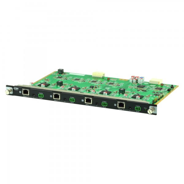 ATEN VM7514 4-Port-HDBaseT-Eingabekarte für VM1600, 4 HDMI-Quellen an 4 Displays