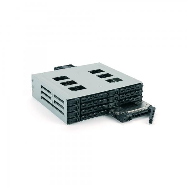 "FANTEC MR-SA1082, SAS + SATA 6G Backplane für 8x2,5"" HDD/SSD"