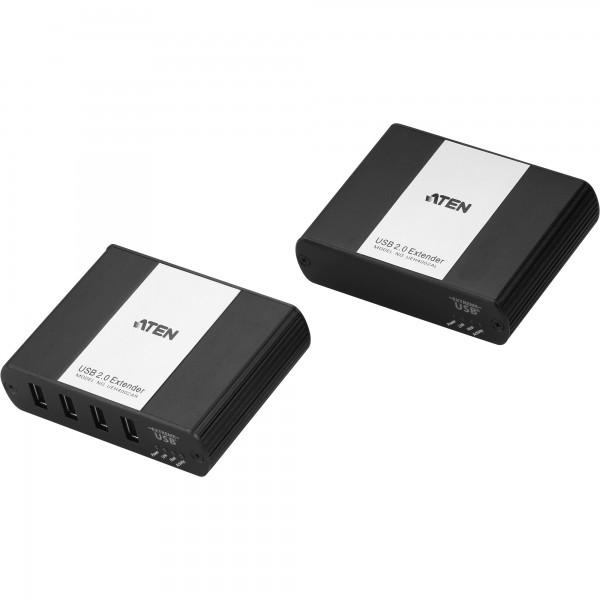 ATEN UEH4002A, USB 2.0 Verlängerung 4-Port über RJ45 Cat.5e oder Cat.6 (bis 100m)