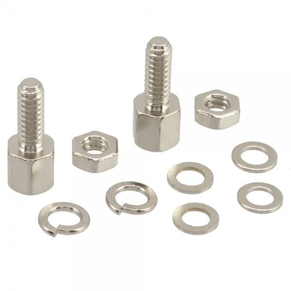 InLine® Schraubensatz (SUB-D Befestigungssatz), 10-teilig