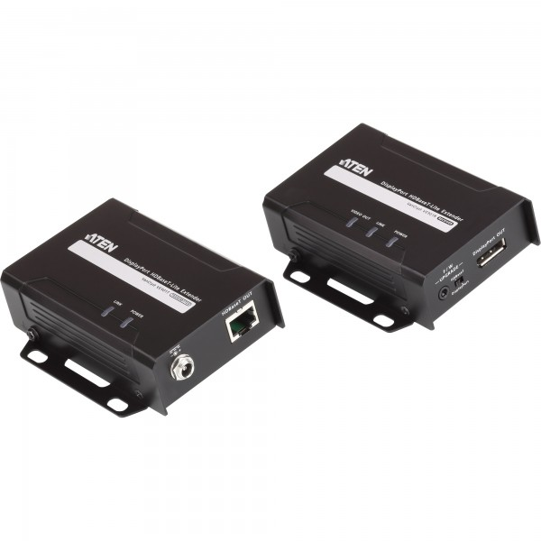 ATEN VE901 Video-Extender DisplayPort HDBaseT-Lite, Sender und Empfänger, Signalverlängerung bis 70m