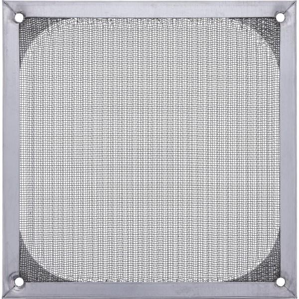 InLine® Lüftergitter, Aluminium Filter, 140x140mm