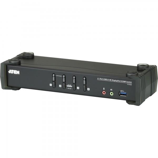 ATEN CS1924 KVMP-Switch 4-fach, DisplayPort, USB 3.0, 4K