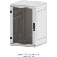 "Triton RMA-15-A81-CAX-A1 19"" Netzwerkschrank 15HE, 800x1000mm, Glastür, grau"