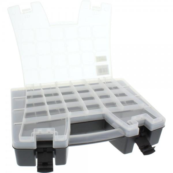 InLine® Kleinteile Leerbox Koffer, 380x280x95mm