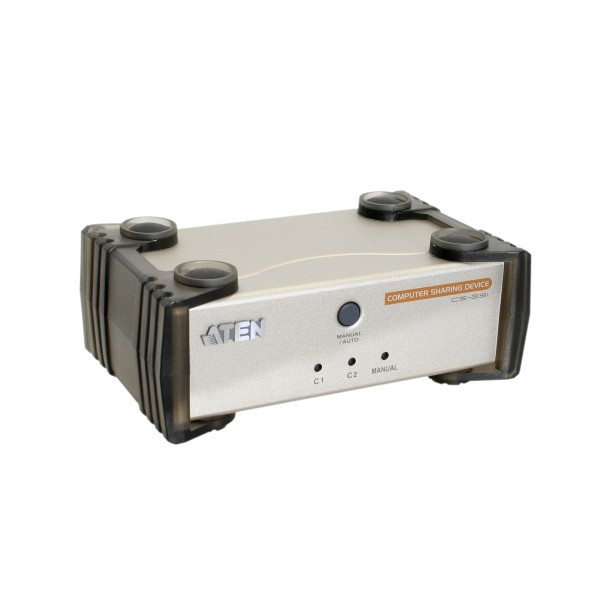 ATEN CS231C KVM-Switch 2x Konsole an 1x PC, mit USB