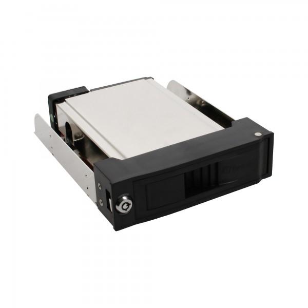 """FANTEC MR-35SATA, 3,5"""" SATA HDD/SSD Wechselrahmen, schwarz, mit Lüfter"""