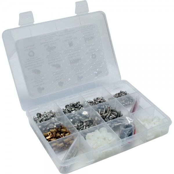 InLine® PC-Schraubenset, 550-teilig (10x50 & 2x25 Stück)