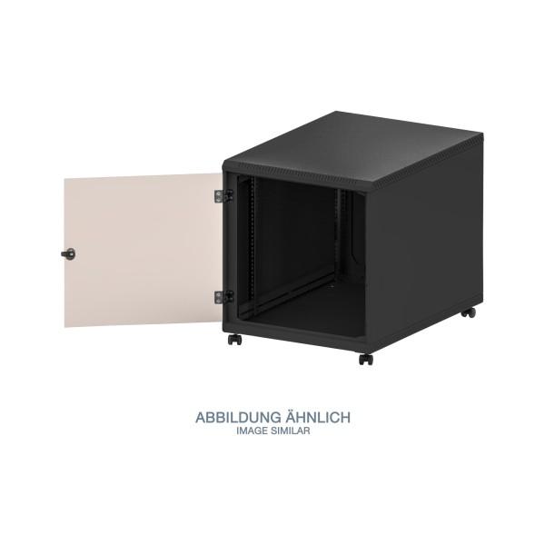 "Triton RCA-12-A69-BAX-A1 19"" Standschrank 12HE mit Rollen, 600x900mm, schwarz"