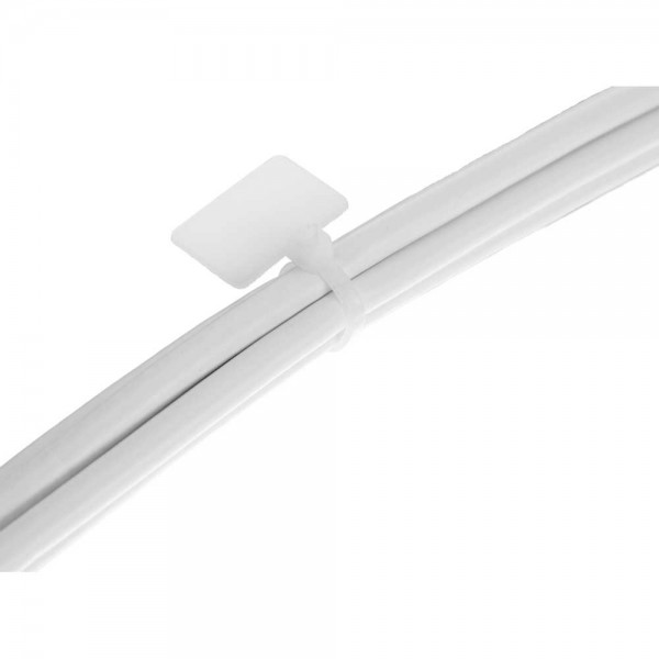 InLine® Kabelbinder mit Markierfeld aussen, Länge 100mm, Breite 2,5mm, 100 Stück