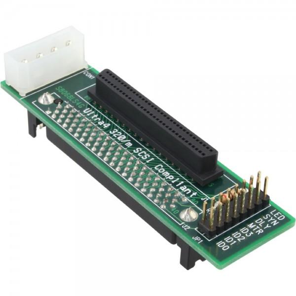 InLine® SCSI-SCA U320 Adapter, 80pol Buchse auf 68pol mini Sub D Buchse