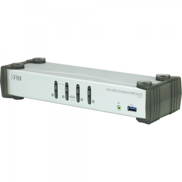 ATEN CS1914 KVMP-Switch 4-fach, DisplayPort, USB 3.0, UHD