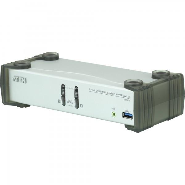 ATEN CS1912 KVMP-Switch 2-fach, DisplayPort, USB 3.0, UHD