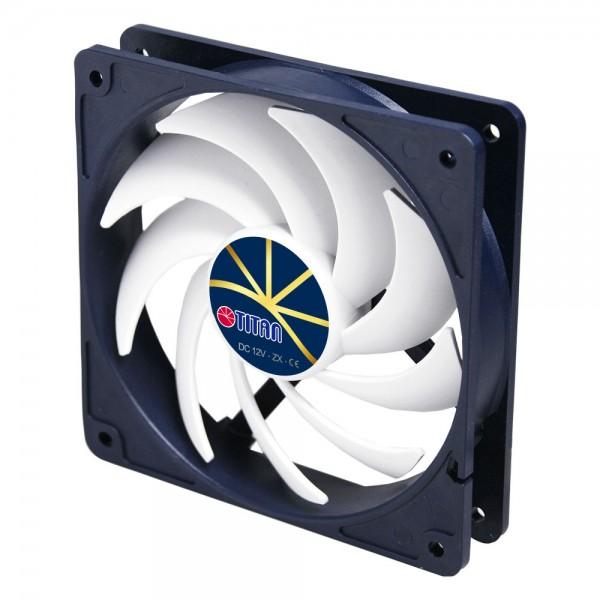 Titan TFD-14025H12ZP/KE(RB) Lüfter 140x140x25mm Extreme Silent Fan, PWM