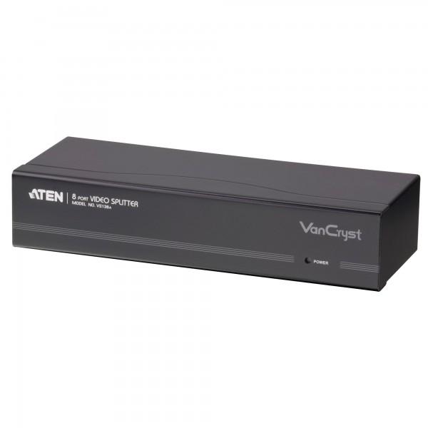 ATEN VS138A Video-Splitter S-VGA, 8-fach Monitor-Verteiler, 450MHz
