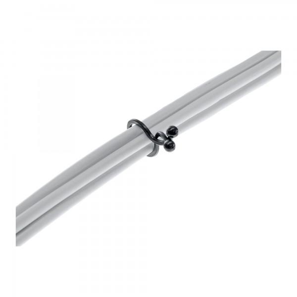 InLine® Kabelbinder Twist 3,5-5mm, schwarz, 10 Stück