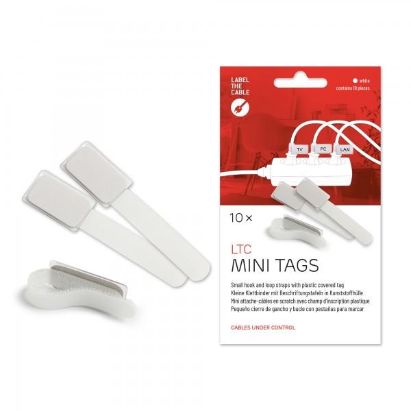 Label-The-Cable Mini, LTC 2520, 10er Set weiß