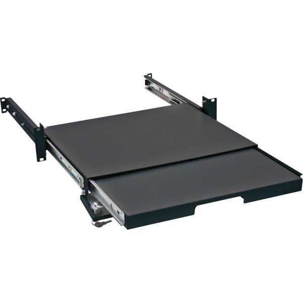 """Triton RAB-UP-X29-A1 19"""" verschließbarer Tastatur- und Mauseinschub, schwarz"""