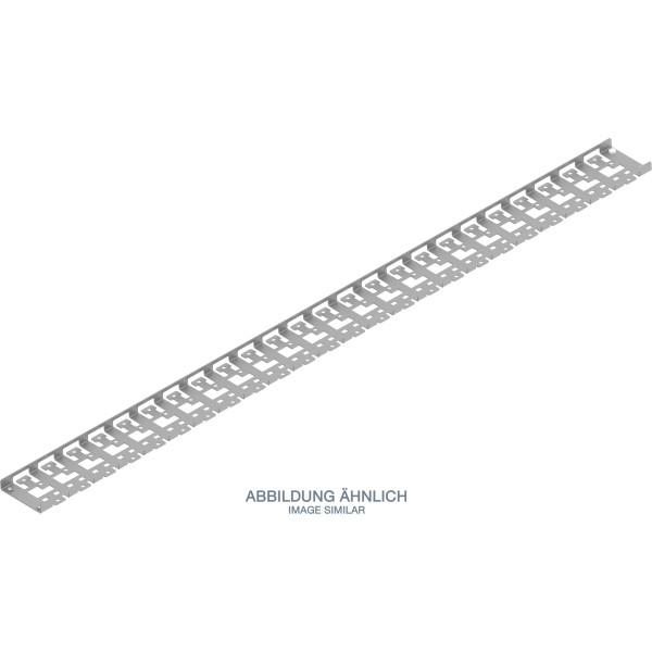 Triton RAC-VP-X53-X1 Kabel-Rangierpanel für 1000mm tiefen Schrank, grau