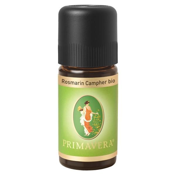 PRIMAVERA® ätherisches Öl Rosmarin Campher bio, 10 ml