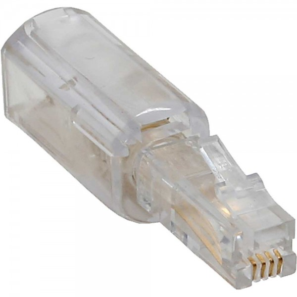 InLine® Twist-Stop, Entwirrer für Kabel von Telefonhörer, schmale kurze Bauform