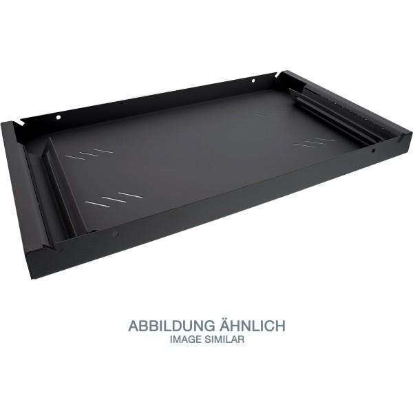 "Triton RAB-UP-550-A4 19"" Fachboden 1HE, 550mm, 80kg, schwarz"