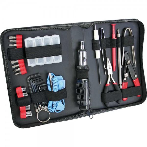 InLine® Werkzeugset für Computer und Elektronik, 34-teilig