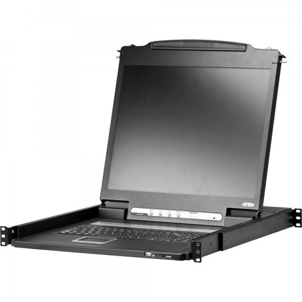 "ATEN CL3000N Konsole mit 19""-Display, VGA, USB, PS/2, geringes Gewicht"