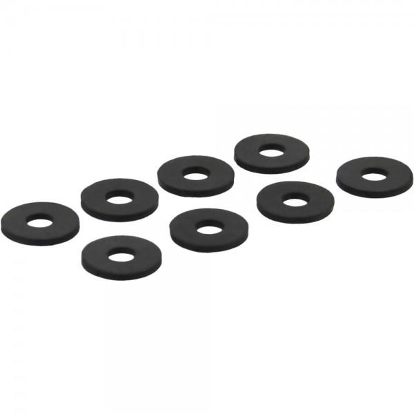 InLine® Gummi Unterlegscheiben, zur Festplatten-Entkopplung, 8 Stück